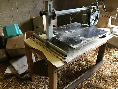 Bench Mounted Saw German made Eumeniai. includes blades. Perfect working order.