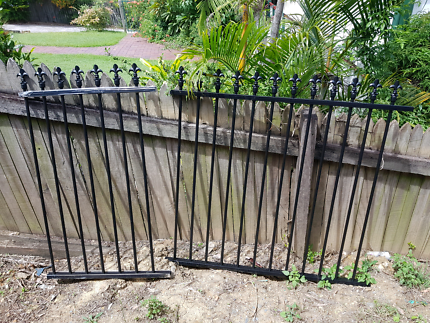 2 x Aluminium Fence Post Offcuts black  Waterford Logan Area Preview