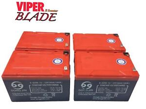 Electric Scooter 48V Battery Pack, For 1000W Viper Blade Scooters. EEC