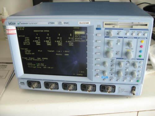 LeCroy LT584 1GHz 4GS/s 4-CH WaveRunner Digital Oscilloscope, Logic Analyzer