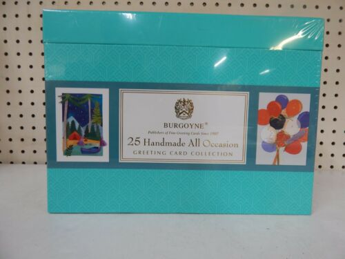 BURGOYNE 25 Handmade All Occasion Greeting Card Collection-2006163-NEW (Damaged)