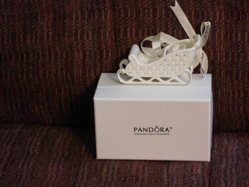2014 NIB Pandora Sleigh Ornament