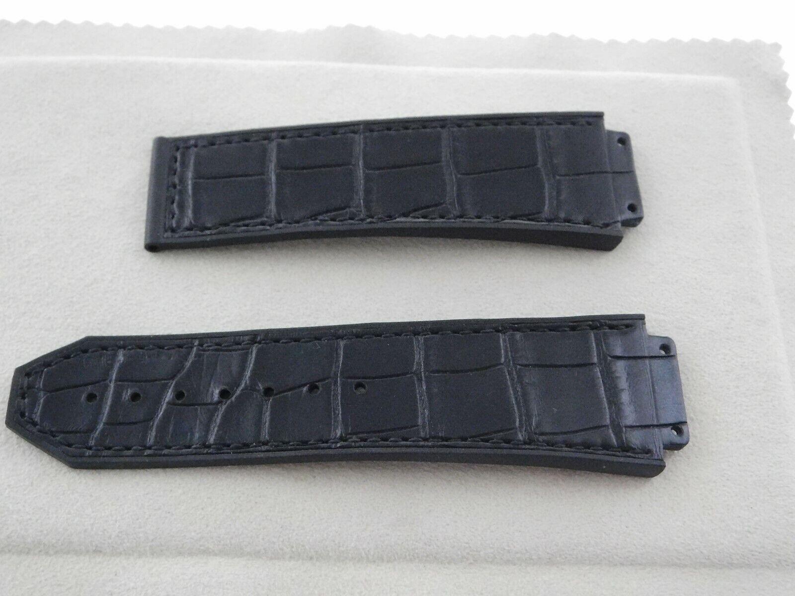 Hublot 26 - 22 mm Krokoband für Faltschließe Big Bang Uhr Modelle Neu und ungetragen