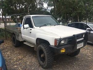 1986 hilux, dual fuel, rego Narre Warren Casey Area Preview