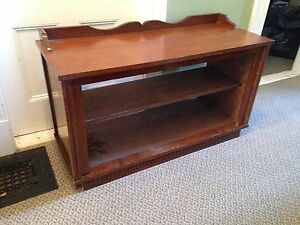 Vintage Maple Cabinet/Shelving Unit. Great TV Stand