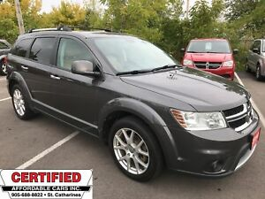 2015 Dodge Journey R/T ** HTD LEATH, PARK SENSORS, AUTOSTART **