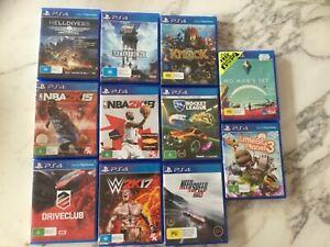 Ps4 games, good condition, discs work, discus price