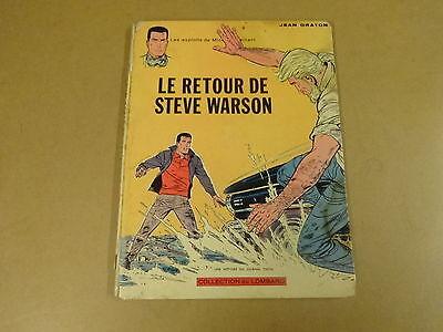 BD EO 1965 / MICHEL VAILLANT - LE RETOUR DE STEVE WARSON