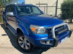 2009 Ford Ranger WILDTRAK (4x4) Dual Cab P/Up Manual Ute REGO AND RWC INCL Moorabbin Kingston Area Preview