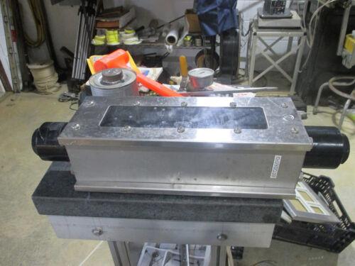 """Ametek 0 - 12 gpm 1"""" npt flow meter stainless steel housing 50J float"""
