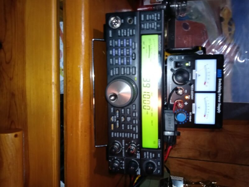 kenwood ts 590s in great working condition comes with hand mic snd power supply