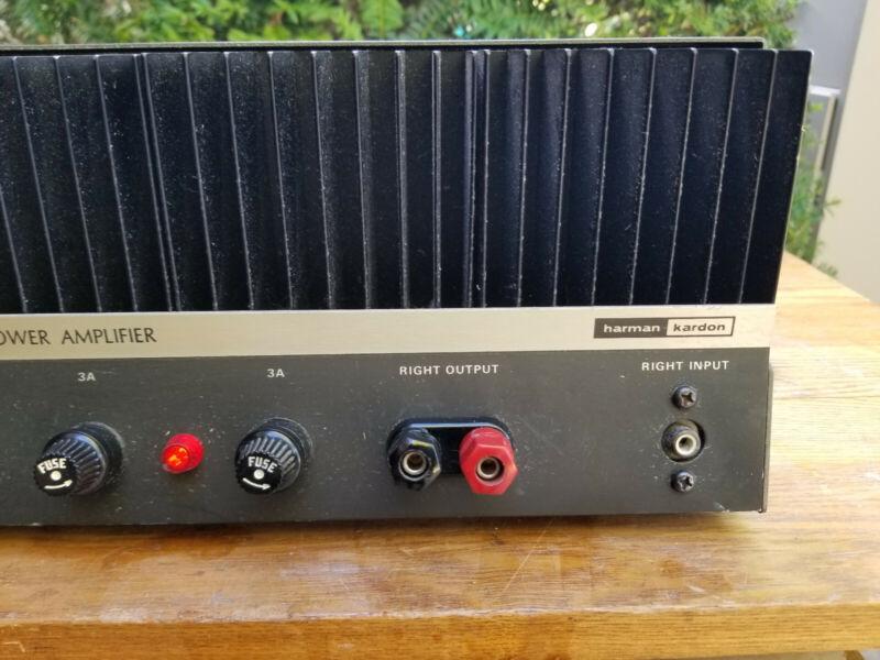 Harman Kardon Citation Twelve 12 Stereo Power Amplifier Vintage
