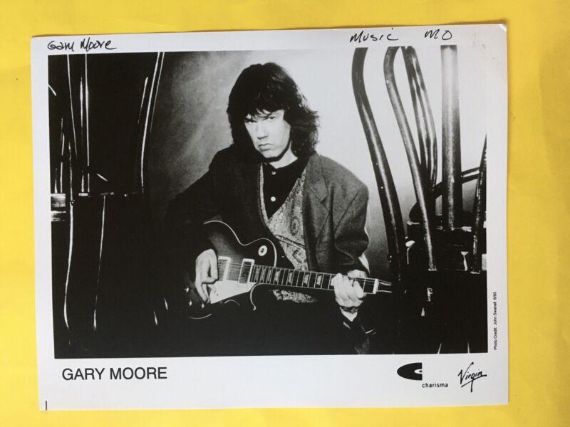 "Gary Moore Press Photo 8x10"". See Info."