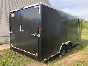2018 20 ft Car Hauler Enclosed Trailer