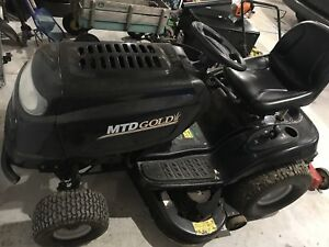 MTD Gold riding lawn mower.