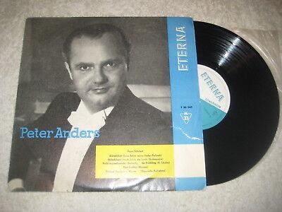 Peter Anders  singt Franz Schubert   Vinyl 10''   LP  Eterna