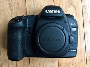 Canon 5D Mark II with Grip and Two 16GB 800X Lexar Pro Cards