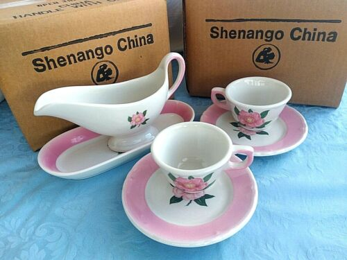 DRAKE HOTEL Chicago DOROTHY DRAPER Serving Set Shenango China SECONDS