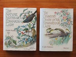 The Edwardian Lady EDITH HOLDEN Pair of Books Cobbitty Camden Area Preview