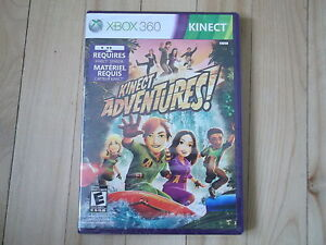 XBOX 360 KINECT ADVENTURE GAME new