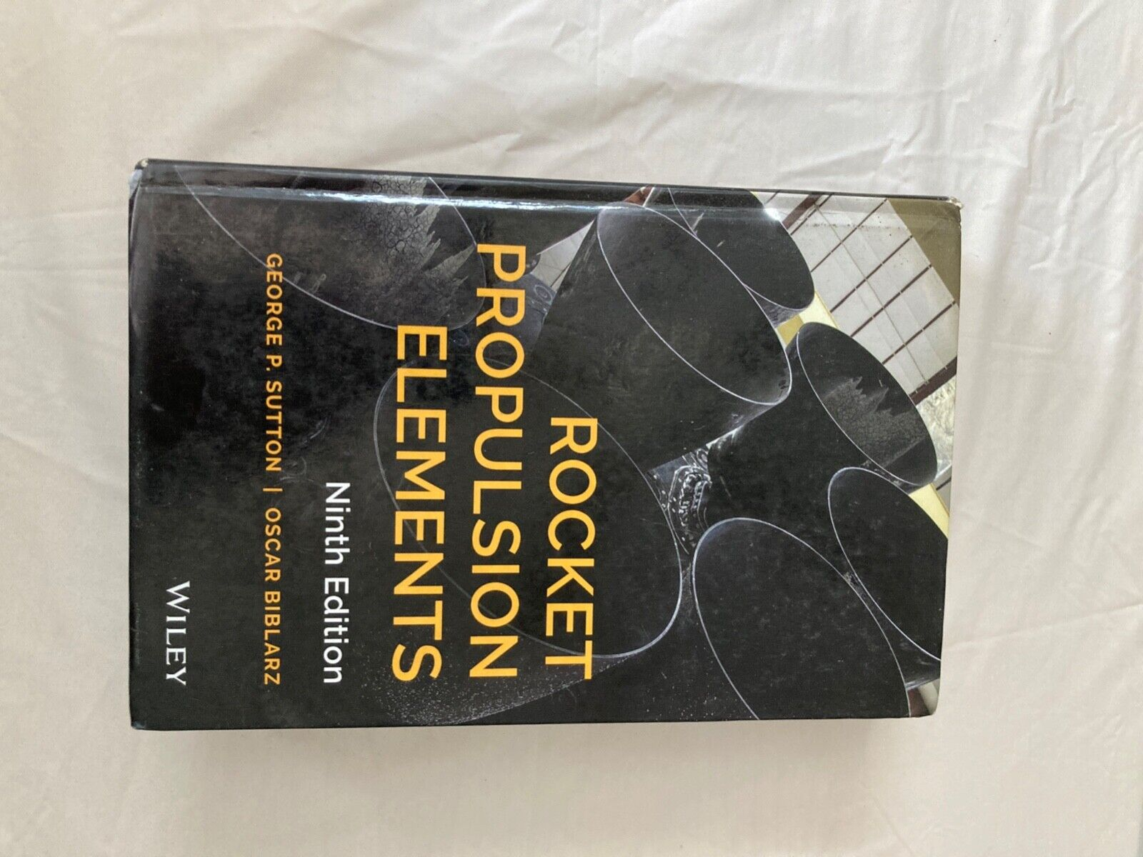 Rocket Propulsion Elements By Oscar Biblarz And George P. Sutton 2017,... - $59.00