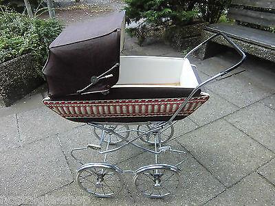 Original 50er 60er Jahre Puppenwagen Stubenwagen Vintage