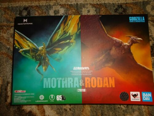S.H. Monsterarts Godzilla: King of the Monsters Mothra and Rodan OEM PRODUCT