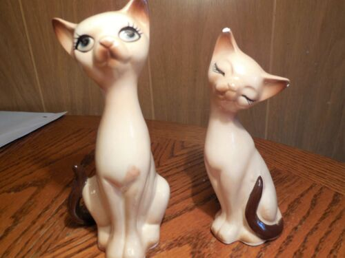 Siamese Cat Salt & Pepper Shaker Set