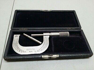 Vintage Brown Sharpe No. 38 Micrometer