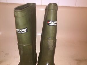 Baffin size boots work gear size 12