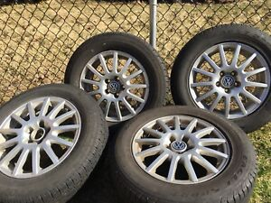VW Wheels with Tires