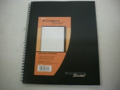 Mead Cambridge Limited Large Meeting Notebook 80 Page Spiral Bound -