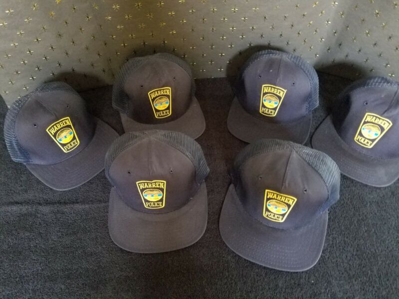 6-Warren Ohio Police ball cap