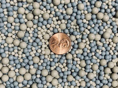 Ceramic Tumbling Media  4 LBS  6 MM 4 MM & 3 MM Polishing Sphere Non-Abrasive