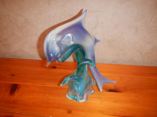 Nice Murano Italian Art Glass Dolphin Fish FREE SHIPPING
