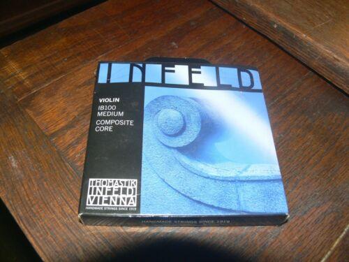 Thomastik Infeld Blue IB100 Violin String Set 4/4 Ball Ends (Composite Core)