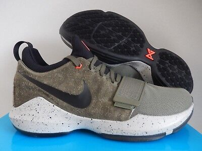 NIKE PG 1 ELEMENTS PAUL GEORGE MEDIUM OLIVE GREEN SZ 14 [911085-200]
