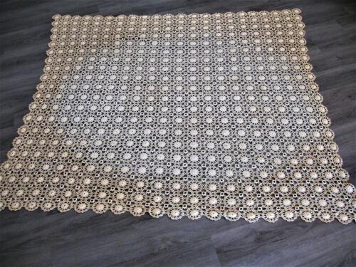 """Antique Lace Tablecloth 64"""" Square"""