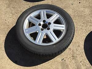 Volvo alloy mag wheel 16 inch rim and tyre 205 55 16,s40,c30,v50,