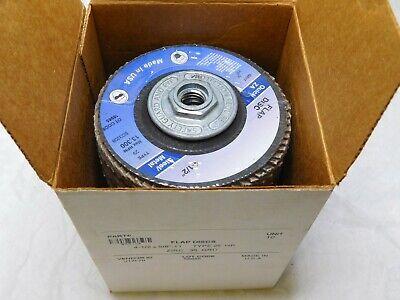 Zirconia Alumina Flap Discs 4-12 X 58-11 Hole 36 Grit Type 29 Qty 10 Bd3208