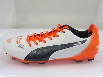 Puma Evopower 1.2 AG Artificial Grass Football Boots Size UK 8 / EU 42 (G5Q)