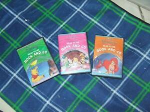 Disney Read to Me Book and CD (3)