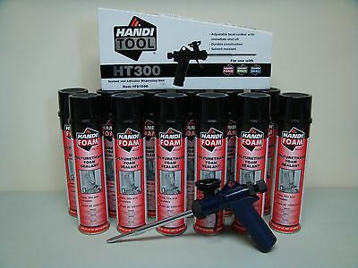Fomo Handi Foam Sealant - Case Of 12 - Ht300 Gun - Its Great Stuff