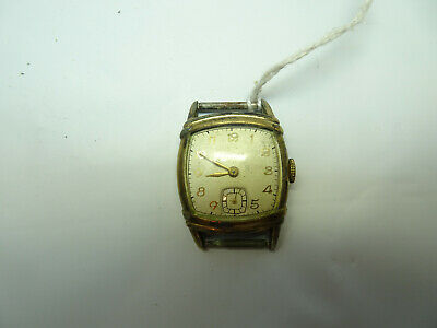 VINTAGE WITTNAUER LONGINES USN 10L WATCH RUNS STOPS FOR RESTORATION OR PARTS