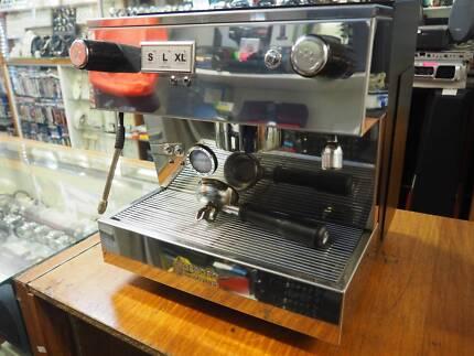 Commercial espresso pod machines