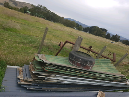 Used roofing iron