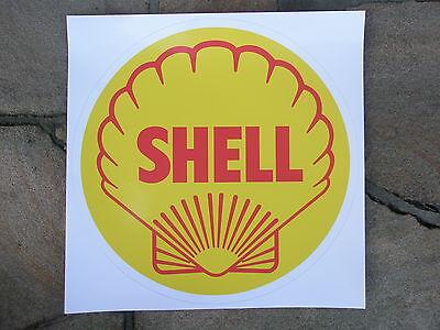 Tanksäule Tankzapfsäule Tankstelle shell Aufkleber gaspumpdecal pompe essence 2