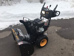 2012 - 30 Inch Poulan Pro 19 HP Snow Blower. Buy early save. OBO