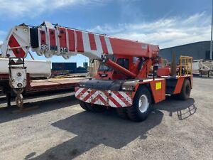 Crane Franna  25 ton Naval Base Kwinana Area Preview