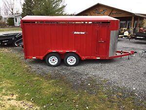 Animal horse cattle trailer